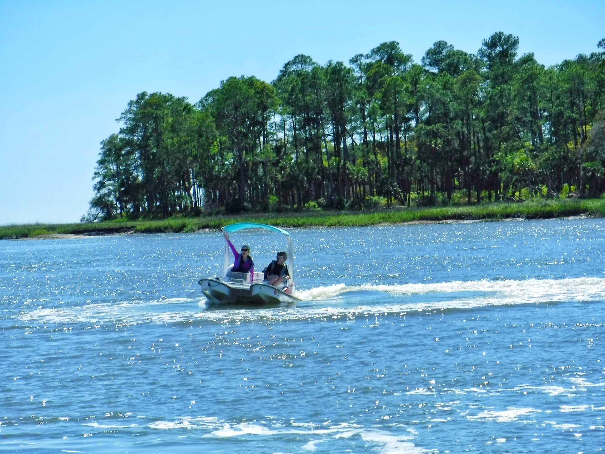 best hilton head attractions backwater cat adventure